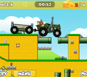 Hra - Tom And Jerry Tractor