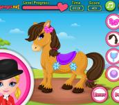 Hra - Baby Barbie Pony Present