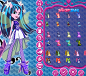 Hra - My Little Pony Rainbow Rocks Aria Blaze Dress Up
