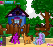 Hra - PonyColoringGame