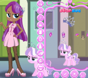 Hra - My Little Pony Diamond Tiara Dress Up