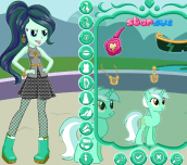 Hra - My Little Pony Lyra Heartstring Dress Up