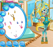 Hra - Monster High Lagoona Spa