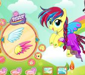Hra - FluttershyMyLittlePonyRainbowPowerStyle