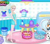 Hra - Elsa's Dirty Laundry