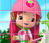 Hra - Strawberry Shortcake Rotate Puzzle
