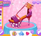 Hra - Cinderella Shoes Designer