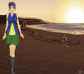 Hra - AquariumDressUpGame