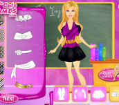 Hra - BarbieSchoolUniformDesign