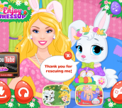 Hra - Barbie Easter Bunny Rescue