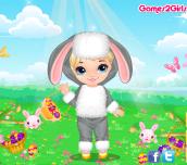 Hra - EasterBabyDressUp