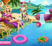 Hra - RapunzelSwimmingPool