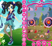 Hra - My Little Pony Sour Sweet Dress Up