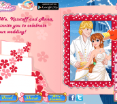 Hra - PrincessAnnaWeddingInvitation