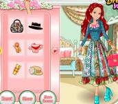 Hra - Barbie'sPatchworkPeasantDress