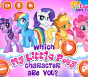 Hra - Which My Little Pony Character Are You?
