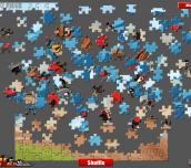 Hra - AngryBirdsRacePuzzle