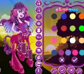 Hra - Monster High Flara Blaze Dress Up