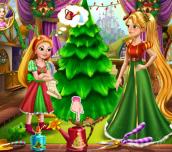 Hra - RapunzelMommyChristmasTree