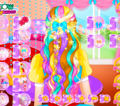 Hra - RapunzelWeddingHairDesign2