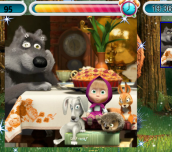 Hra - Mášaamedvědpuzzle