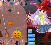 Hra - Cute Witchy Dress-Up