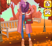 Hra - Autumn Girl Dress Up