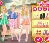 Hra - Blonde Princesses Night Out