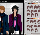 Hra - AnimeBoysDressUpGame