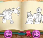 Hra - IceKingdomColoringBook