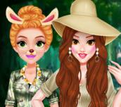 Hra - Princess Girls Safari Trip