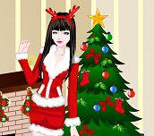Hra - Vánoční oblíkačka