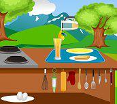 Hra - Breakfast cooking