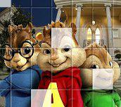 Hra - AlvinaChipmunkovéPuzzle