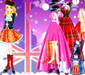 British Gown Dress Up