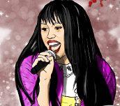 Hra - Hannah Montana Coloring