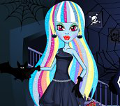 Hra - Monster High Abbey Make Up and Dress Up