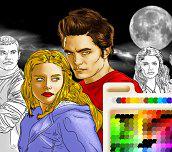 Hra - TwilightOmalovánka