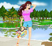Hra - Oblečenínaletníden