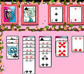 Hra - Monster High Solitaire