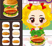 Hra - Hamburger King Contest