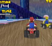 Hra - Mario Rain Race
