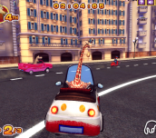 Hra - Madagascar 3 Race Across Europe