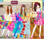 Hra - BarbieSchoolGirlDressUp