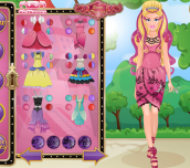Hra - Barbie Ever after High Spa