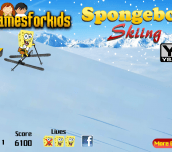 Hra - SpongebobSkiing