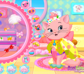 Hra - Kitty Princess Hair Salon