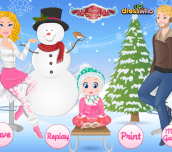 Hra - BarbieFamilyWinterTrip