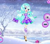 Hra - SnowflakesDressUp