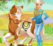 Hra - Barbie's Country Horse